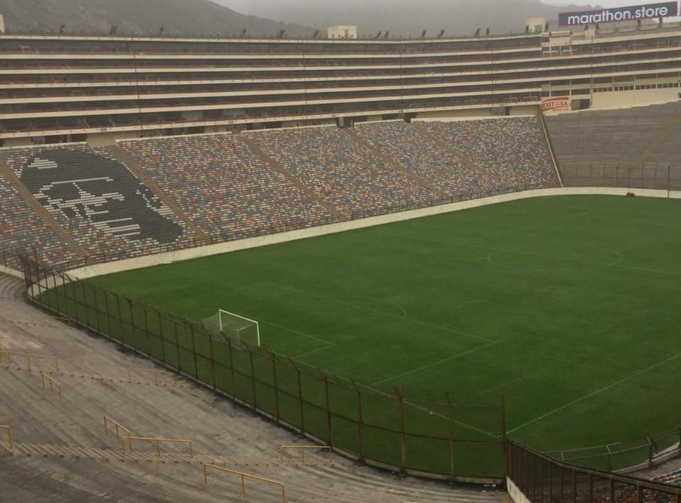 Monumental de Lima sediará a primeira final única da Libertadores — Foto: Daniel Gamba/Arquivo pessoal