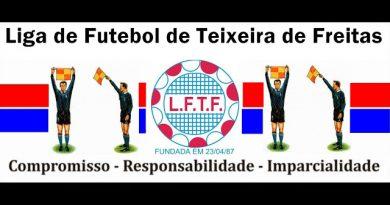 LFTF divulga arbitragem para os jogos da 5ª rodada da Copa de Bairros de Teixeira de Freitas 2019