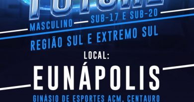 Eunápolis receberá etapa de base do futsal baiano neste fim de semana