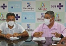 Prefeitura de Itamaraju realiza coletiva de imprensa e fala sobre a imunização da população