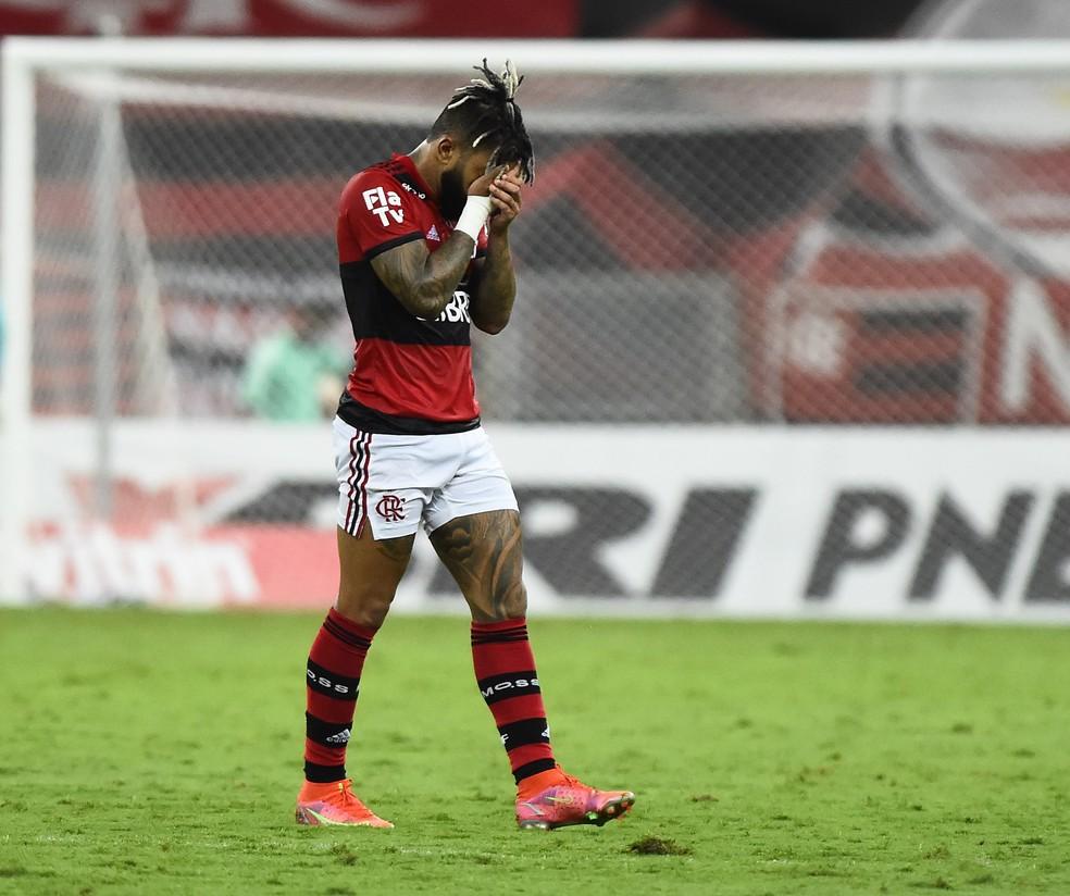 Gabigol Flamengo — Foto: André Durão